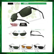 image of IDEAL 731M Spring Hinge Hard Coating Polarized Lens Sunglasses