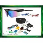 KUGAI COOLCHANGE 0091 Cycling Sport 5 IN 1 Sunglasses Free TR90 Frames