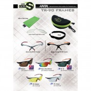 image of IDEAL ACTIV S 5 in 1 SPORT SUNGLASSES (TR-90 FRAME)