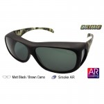 IDEAL 589P Camo Fit Over Overlap Polarized Sunglasses