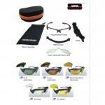 ORIGINAL IDEAL PROEX 10 IN 1 SUNGLASSES (1.6MM Thick Polarized Lens)
