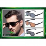 Square Aviator 8516 Premium Quality Anti UV Glare Polarized Sunglasses