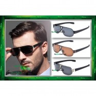 image of Square Aviator 8516 Premium Quality Anti UV Glare Polarized Sunglasses