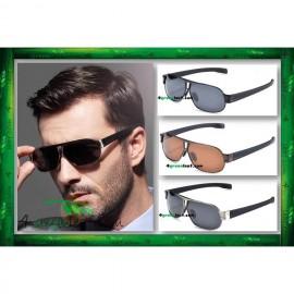 image of Square Aviator 8516 Premium Quality Anti UV Glare Polarized Sunglasses