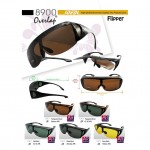 IDEAL 8900 FLIPPER FIT OVER OVERLAP POLARIZED SUNGLASSES