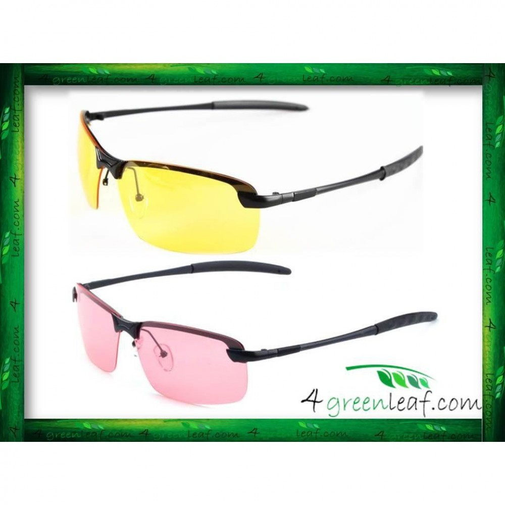 Night Vision Driving Anti Glare UV Protect Sunglasses Glasses 3043