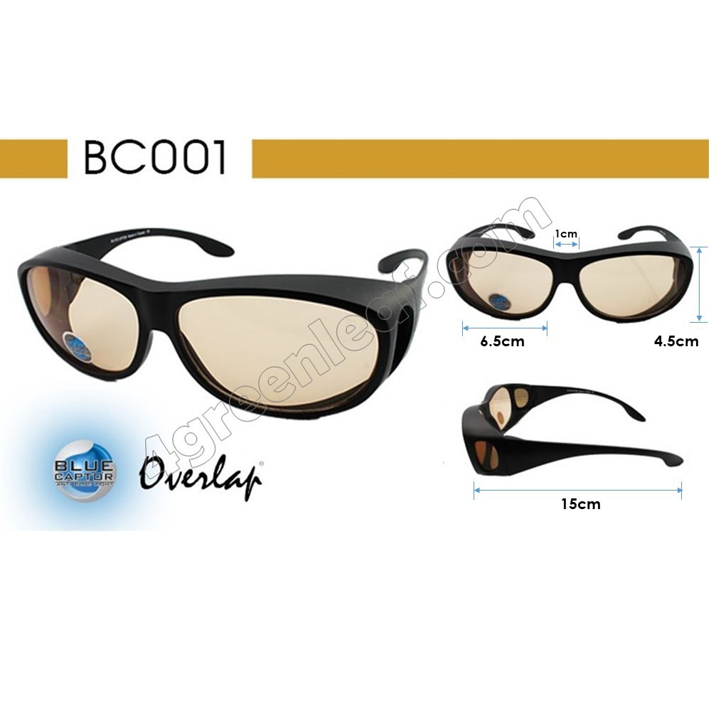 IDEAL Computer Anti Blue Light Fit Over Glasses Computer Reduction