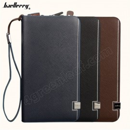 image of Baellerry S6231 Handphone Men Women Wallet Long Purse Leather