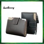 Baellerry Men Women Wallet Short Purse Leather D1282