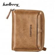 image of 4GL Baellerry Men Women Wallet Short Purse Zipper Dompet D3124 Vertical