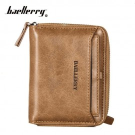 image of 4GL Baellerry Men Women Wallet Short Purse Zipper Dompet D3124 Vertical