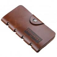 image of Baellerry Men Women Wallet Long Purse Leather COK40