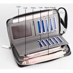 Baellerry S1521 Canvas Premium long Wallet Wallets Purse
