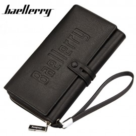 image of 4GL Baellerry Men Women Long Wallet Purse Bag 20 Card Slot S1393