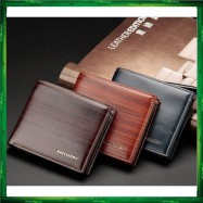 image of Baellerry Top Quality Men Short Wallet Wallets Leather Purse DR005