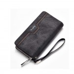 Baellerry S1513 Handphone Men Women Wallet Long Purse Leather