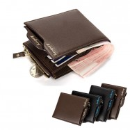 image of 4GL BAELLERRY Men Women Short Wallet Purse D0888 Cross