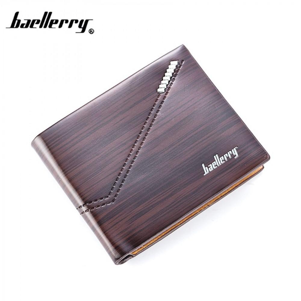 Baellerry Top Quality Men Short Wallet Wallets Leather Purse DR007