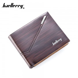 image of Baellerry Top Quality Men Short Wallet Wallets Leather Purse DR007