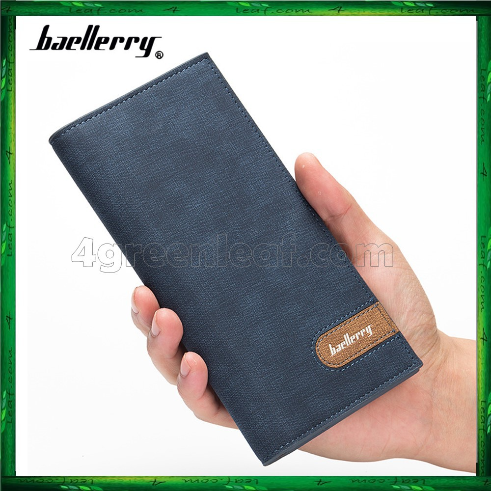 Baellerry 13856 Long Wallet Designer Purse Men Wallet Card Holder