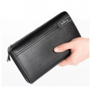 image of BaellerryArrow New PU Leather Wallet Men Long Wallet Bag Big Capacity