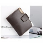 Baellerry Men Women Wallet Short Purse Leather DK191(without zip)
