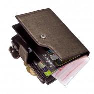 image of 4GL BAELLERRY Men Women Wallet Short Purse Leather 13840-2