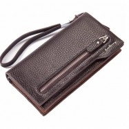 image of Baellerry Premium Leather Long Wallet Purse S1507