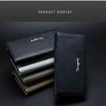 Baellerry S2208 Purse Long Zipper Clutch Wallet Wristlet