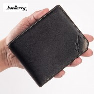 image of 4GL BAELLERRY Men Women Wallet Short Purse Leather DG128