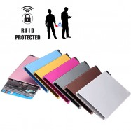 image of 4GL RFID Protected Pop-up Metal Card Holder 870-00