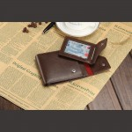 4GL BAELLERRY Men Women Wallet Short Purse Leather Dompet D0129