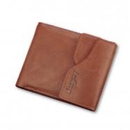 image of 4GL BAELLERRY Men Women Wallet Short Purse Leather Dompet D0129