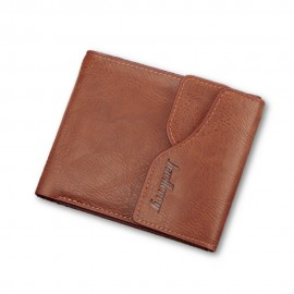 image of 4GL BAELLERRY Men Women Wallet Short Purse Leather Dompet D0129