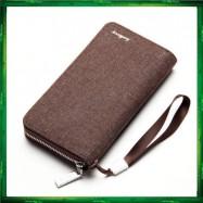 image of Baellerry Canvas Premium long Wallet Wallets Purse S1522
