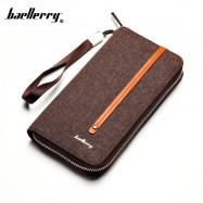 image of Baellerry Canvas Premium long Wallet Wallets Purse S1523