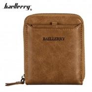 image of 4GL Baellerry Men Women Wallet Short Purse Zipper Dompet D3124 Cross
