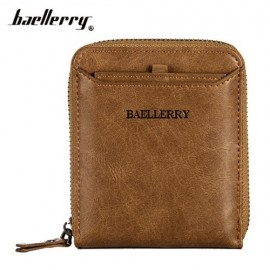 image of 4GL Baellerry Men Women Wallet Short Purse Zipper Dompet D3124 Cross