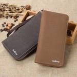 Baellerry Canvas Premium long Wallet Wallets Purse S6032