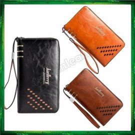 image of Baellerry Premium Leather long Wallet Purse SW009