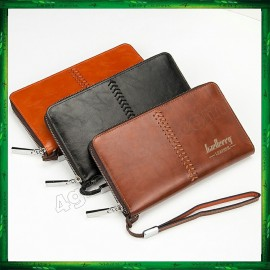 image of Baellerry Premium Leather long Wallet Purse SW008