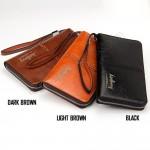 Baellerry Premium Leather long Wallet Purse SW008