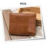 4GL BAELLERRY Leather Wallet Men Short Wallet Dompet 208-PA16