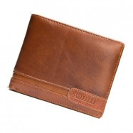 image of 4GL BAELLERRY Leather Wallet Men Short Wallet Dompet 208-A04