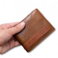image of 4GL BAELLERRY Leather Wallet Men Short Wallet Dompet 208-PA17