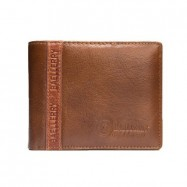 image of 4GL BAELLERRY Leather Wallet Men Short Wallet Dompet 208-PA23