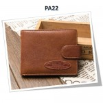 4GL BAELLERRY Leather Wallet Men Short Wallet Dompet 208-PA22