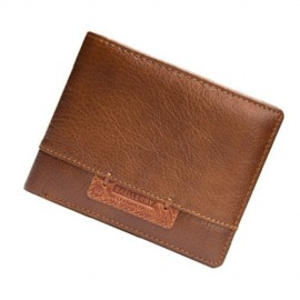 image of 4GL BAELLERRY Leather Wallet Men Short Wallet Dompet 208-A01