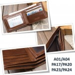 4GL BAELLERRY Leather Wallet Men Short Wallet Dompet 208-PA24
