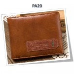 4GL BAELLERRY Leather Wallet Men Short Wallet Dompet 208-PA20